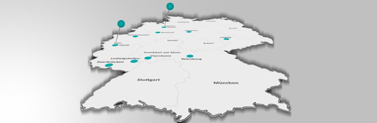 Neue Niederlassungen in Bremen und Köln